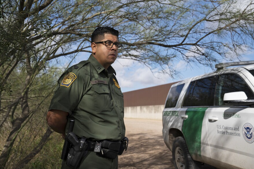 """The border wall system will include a 150-foot enforcement zone, lighting, cameras, other technology, and most importantly an all-weather access road making it easier to respond to traffic,"" Christian Alvarez, a Border Patrol spokesman, says."