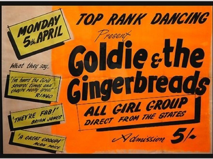 Genya Ravan — then known as Goldie Zelkowitz — broke into the major-label music world with the all-female band Goldie And The Gingerbreads.