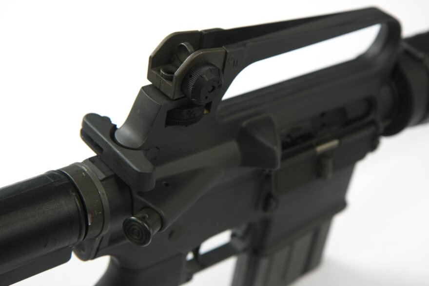 photo of Colt AR-15 rifle