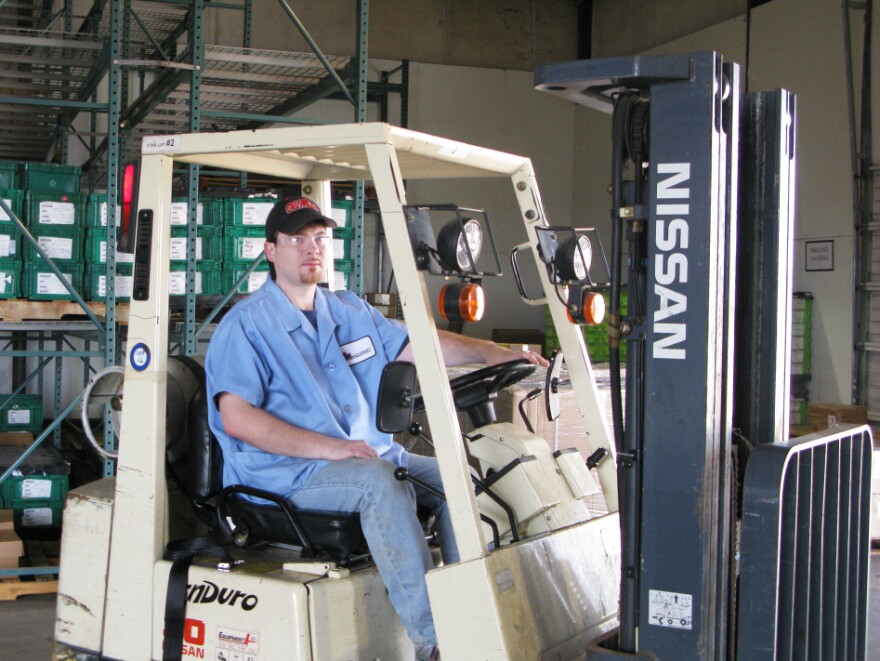 <p> Brian Vandevender says a tough economic market prevented him from getting a good job until the state brought back the program it calls STEPS 2 last month. He just got a position working for a company that makes auto parts and supplies and hopes it will turn into a full-time job when STEPS ends in December. </p>