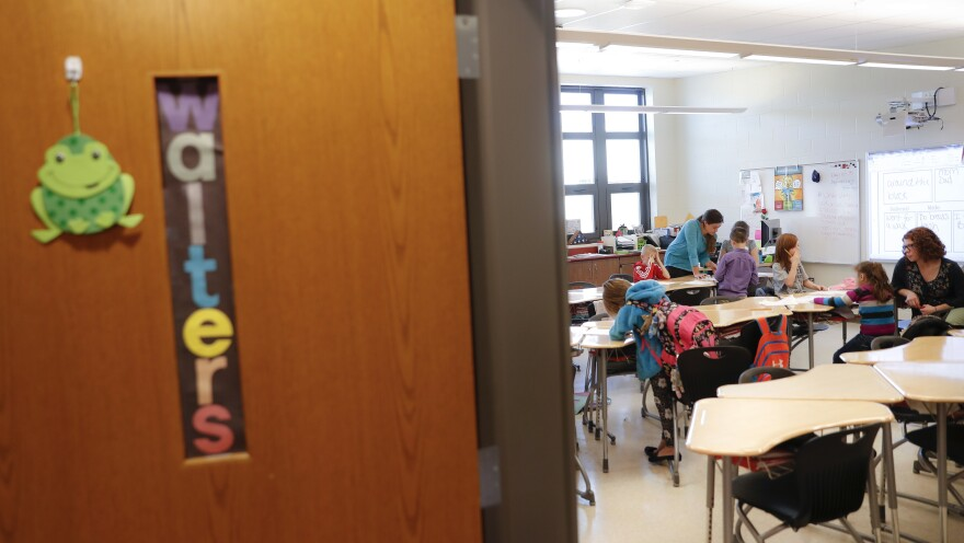 A classroom in Circleville, Ohio.