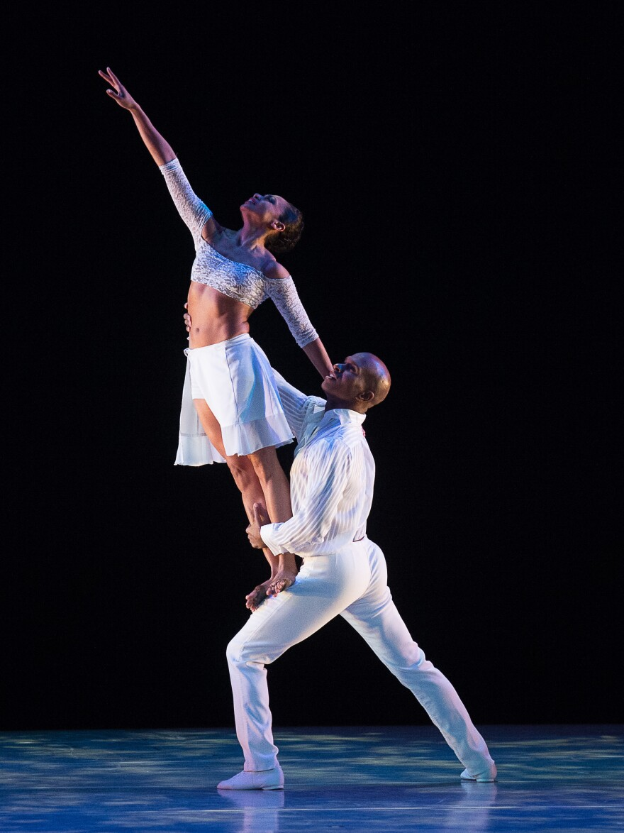 Linda Celeste Sims and Glenn Allen Sims are two of the longest tenured dancers in the Alvin Ailey American Dance Theater company — one of the best known companies in the country.