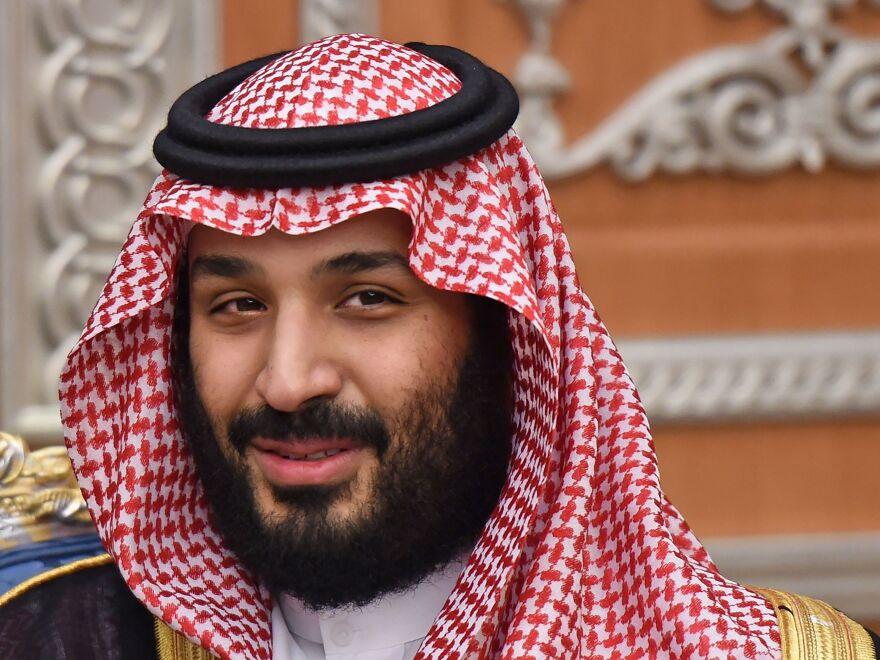 Saudi Crown Prince Mohammed bin Salman attends a meeting in November 2017 in Riyadh. U.S. officials say he has hidden his mother.