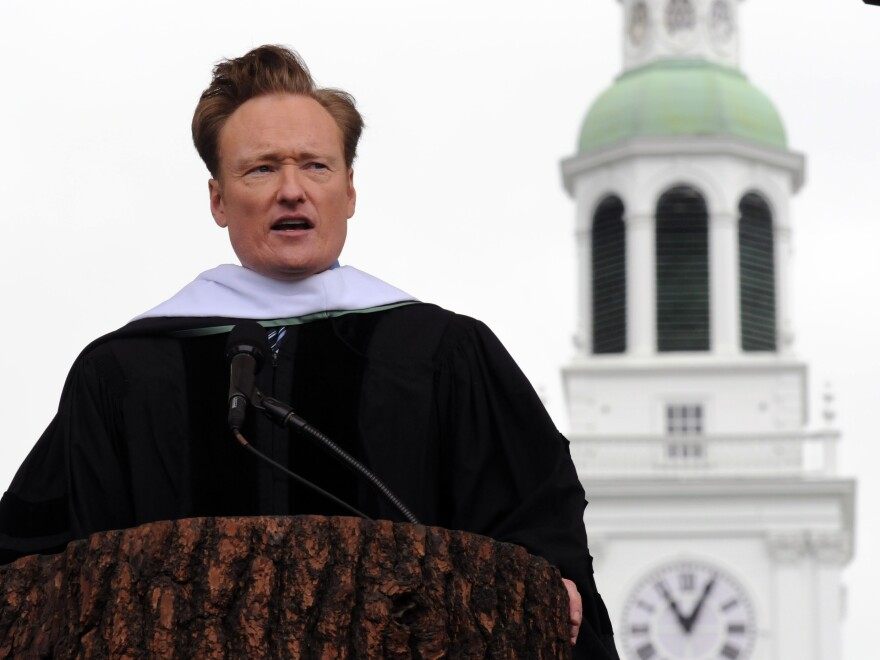 Conan O'Brien's 2011 commencement address at Dartmouth College was one of those speeches that was so good it drew news coverage.