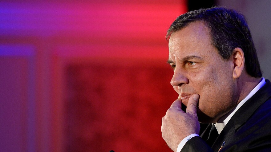"While New Jersey Gov. Chris Christie addressed the Virginia Consumer Electronics Association Friday, his ally was due in court over charges related to the ""Bridgegate"" scandal."