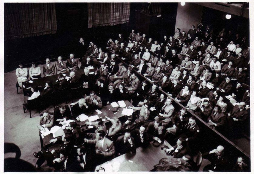 Nazi officials were prosecuted at the Nuremberg trials in Germany from 1945-49. American Benjamin Ferencz, who was 27 and serving as a prosecutor for the first time, won convictions against all 22 Nazi defendants in his 1947 trial.