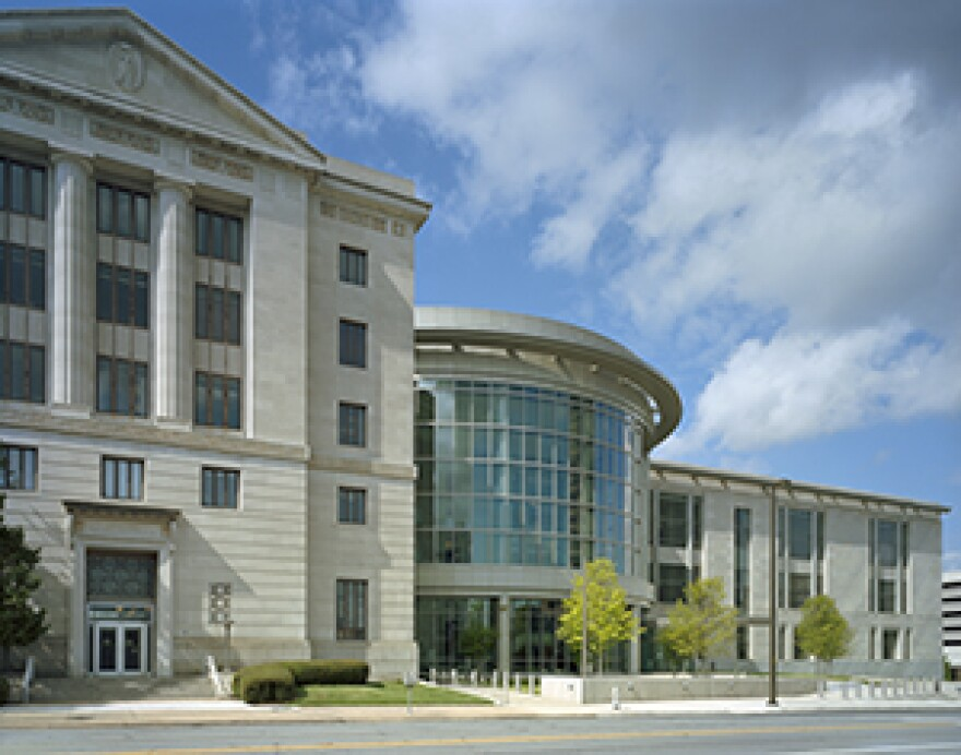 Eastern District of Arkansas building in downtown Little Rock.