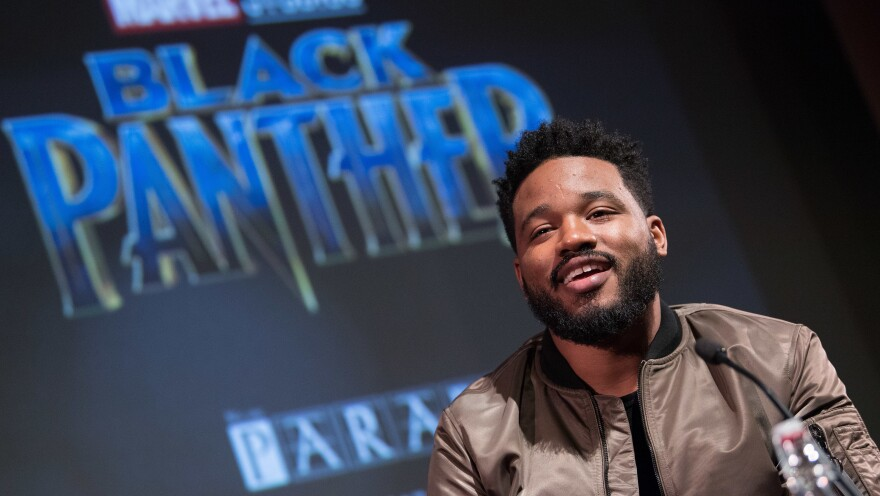 Director Ryan Coogler attends a London screening of his film <em>Black Panther</em>, the highest-grossing movie of 2018.