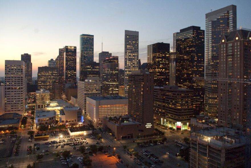 Houston's skyline