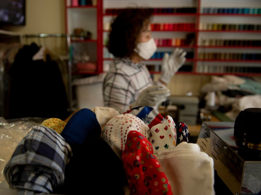 More places are requiring people wear masks, including grocery stores and airlines. On this broadcast of <em>The National Conversation</em>, an epidemiologist answers your questions about the face coverings.
