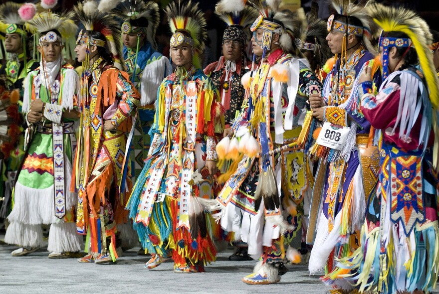 Dancers at the 2007 Smithsonian Pow-Wow.