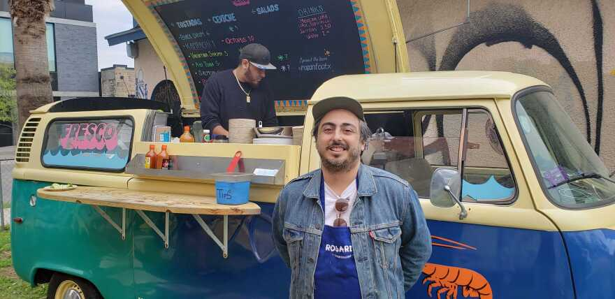 Carlos Acosta, owner of Rosarito, opened a second food truck in anticipation of South by Southwest.