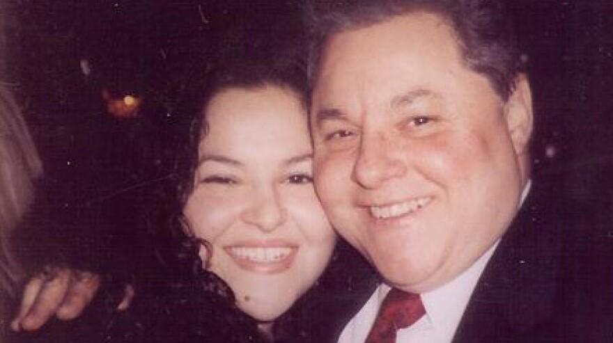 Ronald Fazio, shown here with his daughter Lauren.