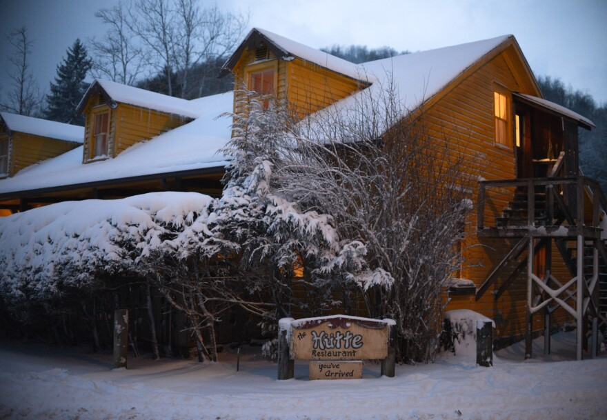 The Hutte is the lone restaurant in Helvetia, W.Va. It's also where the feasting begins on Fasnacht.