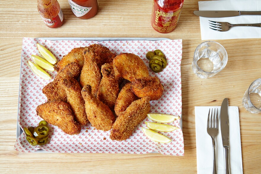 Chicken Town, a nonprofit restaurant, is hoping to provide a more healthful version of fried chicken — a popular after-school snack in the U.K. — to teens in an area of London where childhood obesity rates are well above the national average.