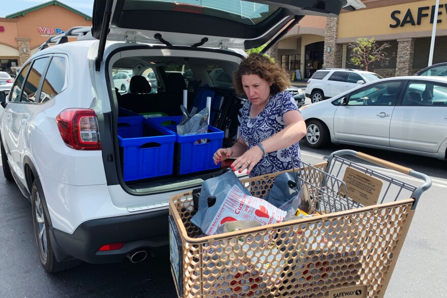 """I had one day I worked six hours and made $50. It really wasn't worth it. ... But it doesn't happen that often,"" says Hilary Gordon, who works as a shopper for the grocery delivery app Instacart in a suburb of Sacramento, Calif. ""The other day I worked 11-and-a-half hours and made $265. Great? No. But good."""