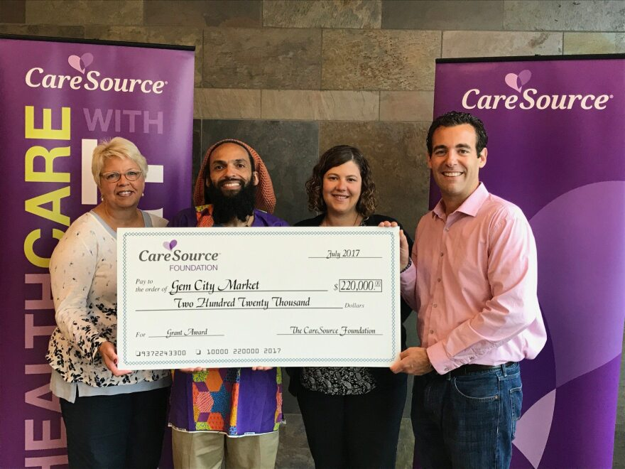 "The Gem City Market project has received a $220,000 Grant from insurance giant CareSource. ""We are thrilled to receive this vote of confidence from Caresource,"" says Amaha Sellassie, Gem City Market Board President."