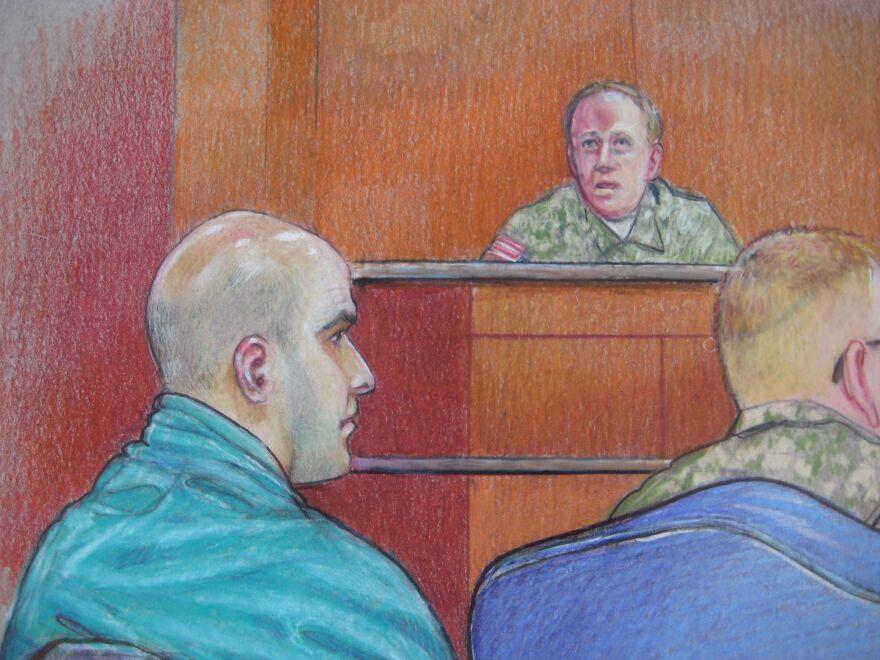 Hasan courtroom sketch2 Credit Pat Lopez.jpg