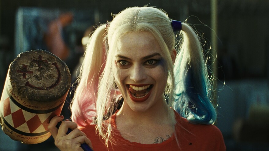 Margot Robbie plays Harley Quinn in the new film <em>Suicide Squad</em>.