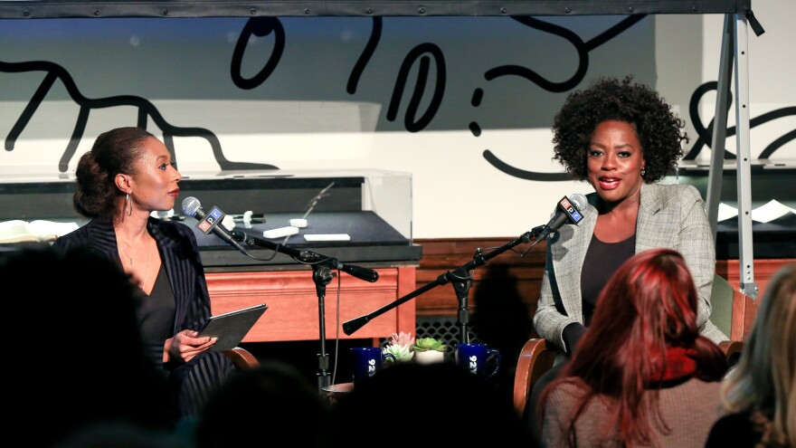 Viola Davis spoke with NPR's Audie Cornish at the 92Y in New York, N.Y. as part of the NPR Presents series of on-stage interviews with creative people.