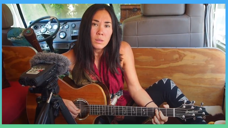 """Stacey Joy entered the song """"Can't Be Found"""" for the 2020 Tiny Desk Contest"""