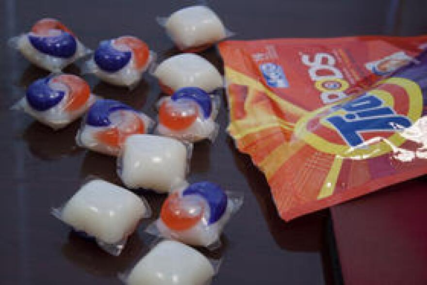 Nearly 12,000 calls have been made to poison control centers nationally after children touched, inhaled, bit into or ate laundry and dish detergent pod.