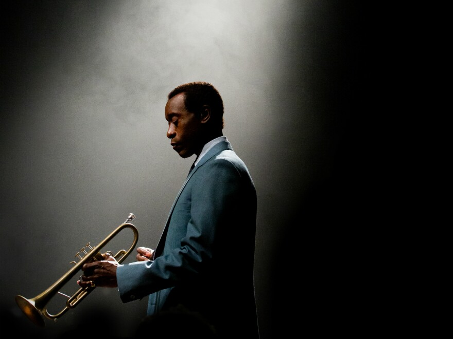 Don Cheadle stars as Miles Davis in the film <em>Miles Ahead</em>, which he also wrote, produced and directed.