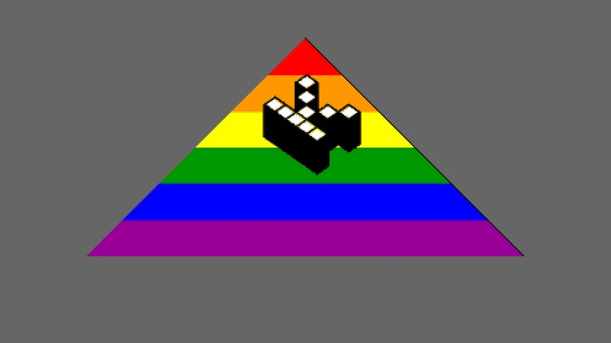 A screengrab of a Kopimi symbol, used by the Missionary Church of Kopimism to signify a site's willingness to be copied.