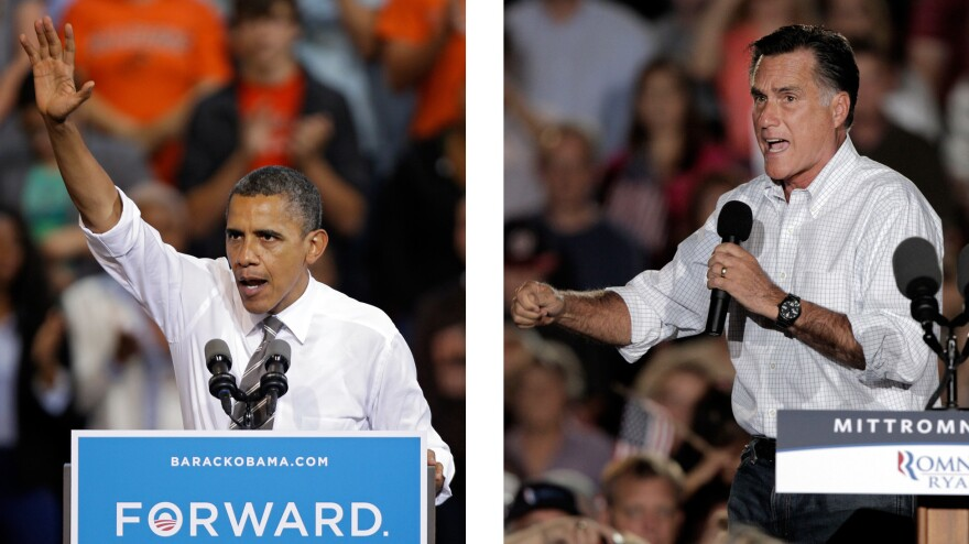 President Barack Obama and Republican presidential candidate Mitt Romney both campaigned in the battleground state of Ohio this week.
