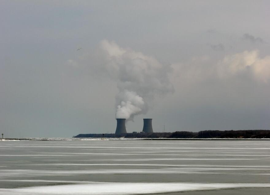 A photo of Perry Nuclear Plant