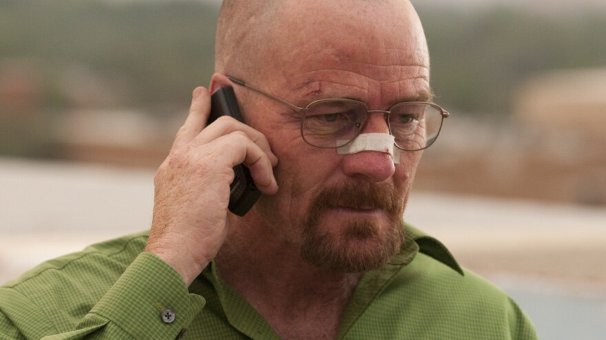 Over the past few seasons, <em>Breaking Bad'</em>s Walter White (Bryan Cranston) has changed from meek hero to forceful villain. TV critic David Bianculli says he isn't just breaking bad anymore — he's entirely broken.