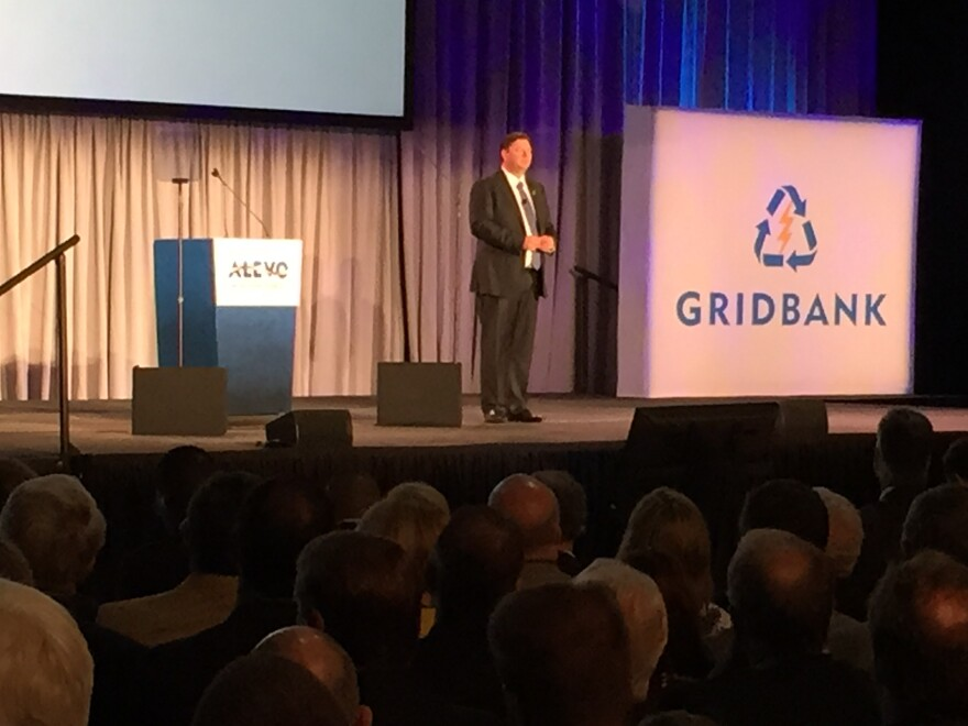 Alevo CEO Jostein Eikeland unveiled the company's plans for the old Philip Morris plant in October 2014.