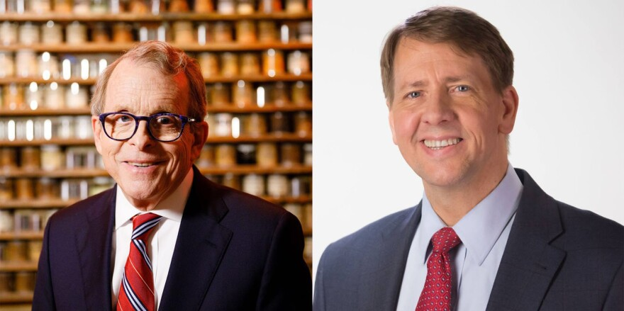 Mike DeWine (R) and Richard Cordray (D)