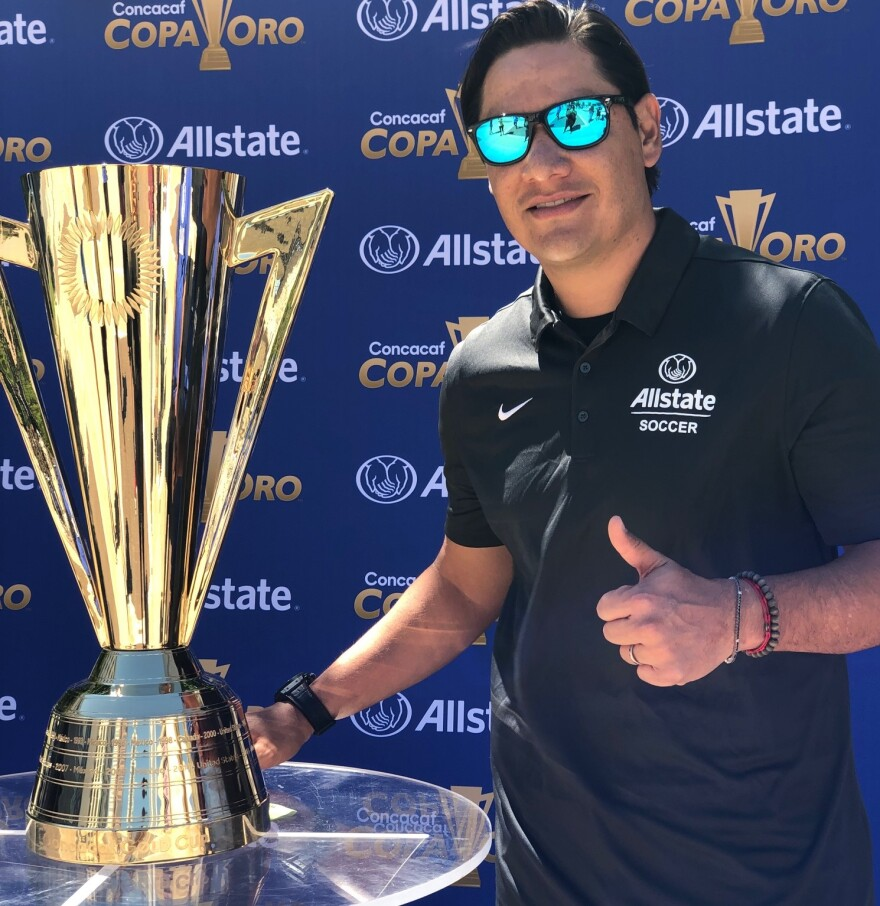 Moises Munoz; Gold Cup; Soccer
