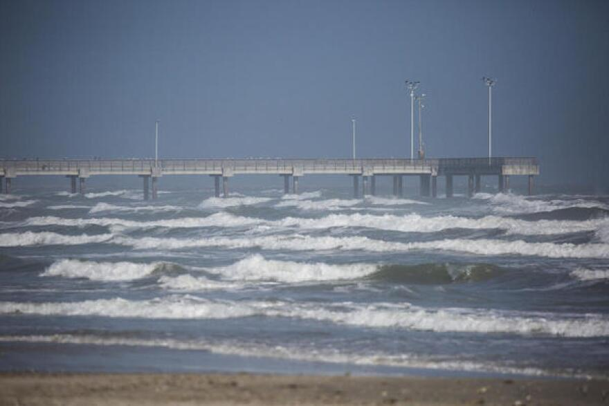 Port Aransas officials hope the fishing pier will get more crowded as visitors return for spring break.