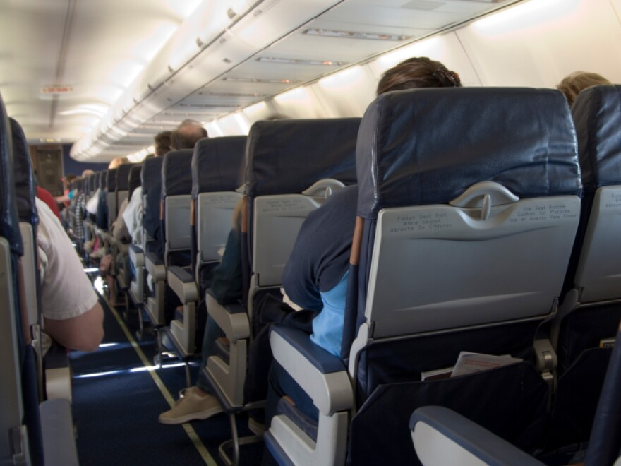 On packed flights, space is at a premium and tempers sometimes flare.