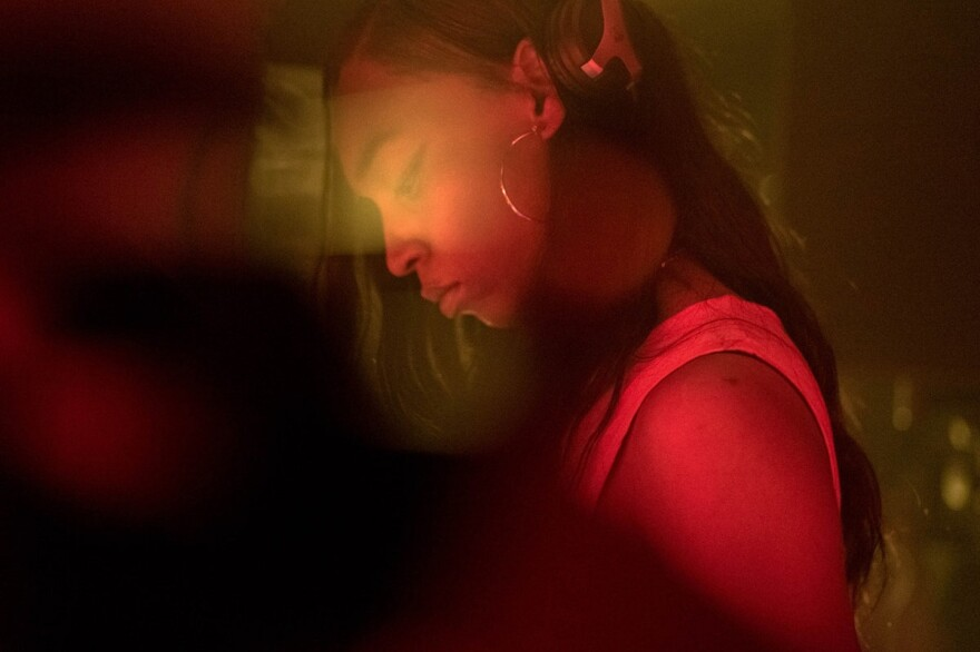 """The producer Nkisi made her debut album, <em>7 Directions</em>, as part of a desire to think about """"what it means to be human in another way."""""""