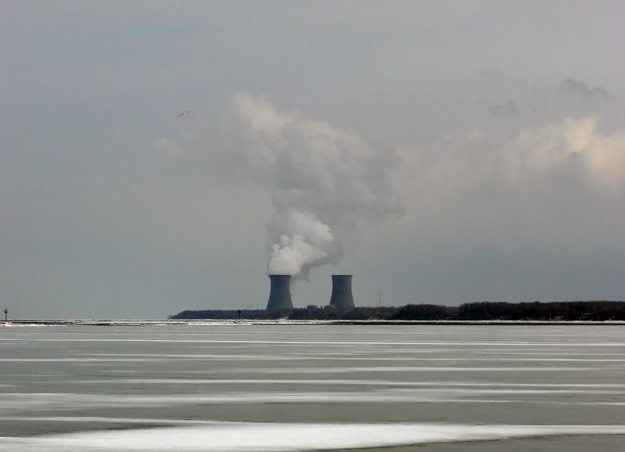 photo of Perry nuclear power plant