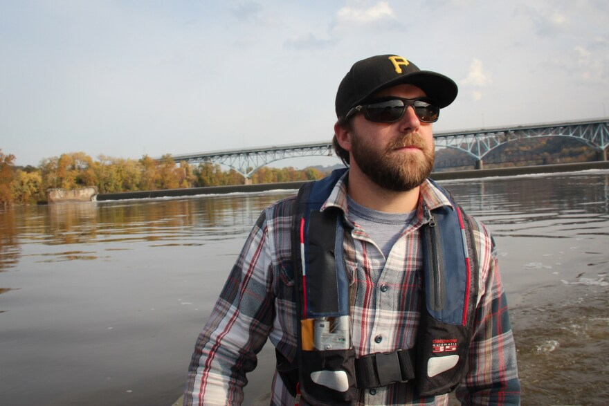 Three Rivers Waterkeeper, Rob Walters, has mixed feelings about new hydropower developments in the region. He's in favor of renewable energy but is concerned about the impact projects might have on the still-recovering fisheries.