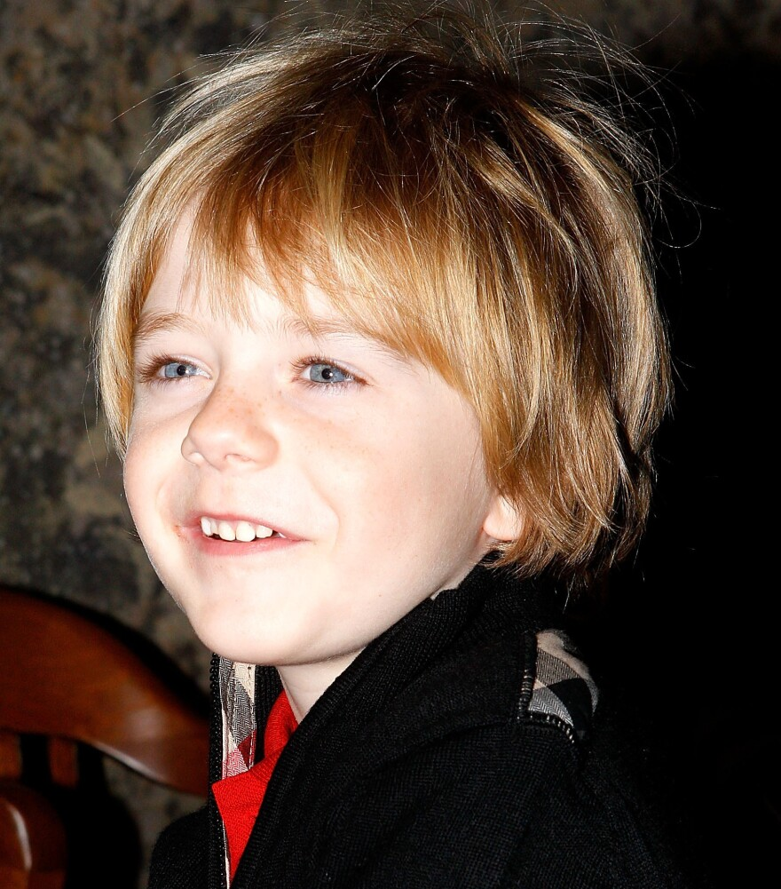 Max Page in 2011, when he was six.