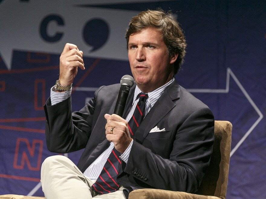 Fox News star Tucker Carlson has been on the defensive over seemingly racist anti-Iraqi remarks he made years ago.