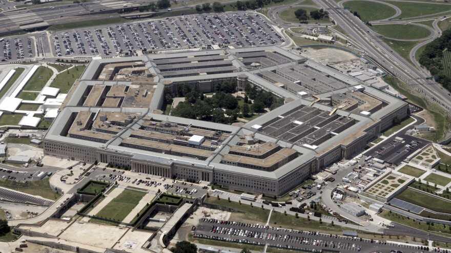 The Pentagon building, outside Washington, D.C.