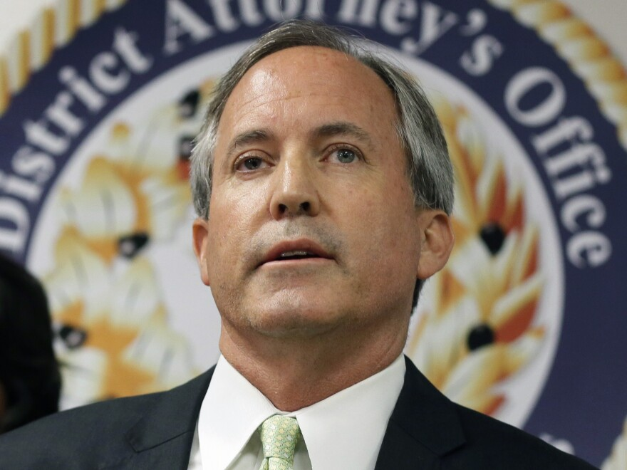 Texas Attorney General Ken Paxton says he could prosecute voters who improperly request absentee ballots due to the coronavirus pandemic.