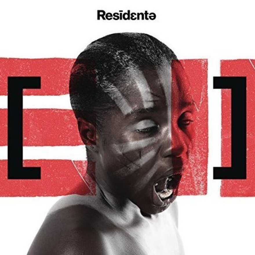 The cover of Residente's self-titled album.