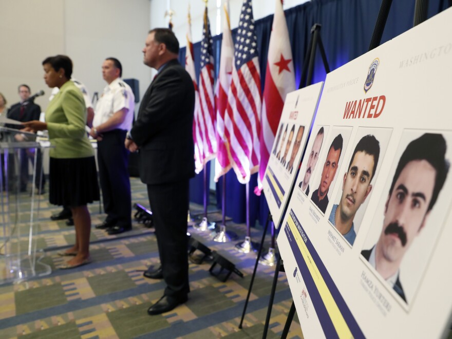 District of Columbia officials speak about the May 2017 altercation outside the Turkish Embassy in Washington, D.C.