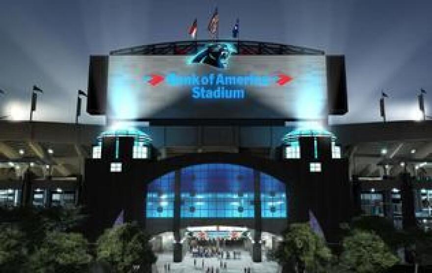 Carolina Panthers' Bank of America Stadium