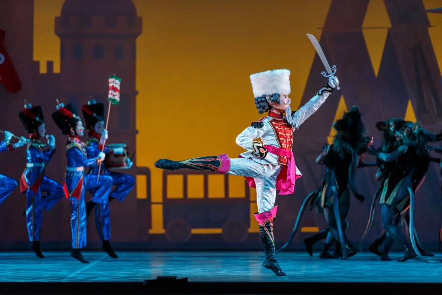 Dancers in the 2013 Ballet Austin performance of 'The Nutcracker '