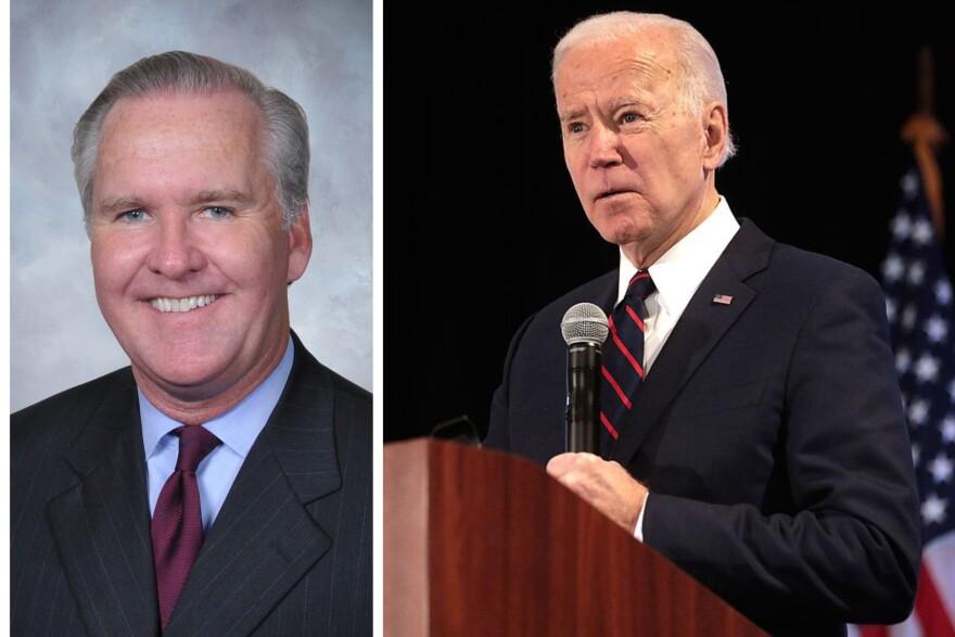 Bob Buckhorn and Joe Biden