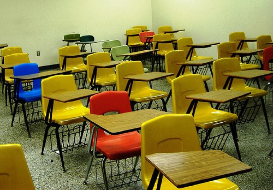 schooldesksmanycolorsFlickrevmaiden.jpg