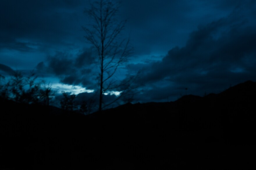 Night falls outside the town of Henganofi in the Eastern Highlands Province. In recent decades, people accused of sorcery have been tortured and killed, sometimes publicly, and in places where these types of attacks didn't happen in the past.